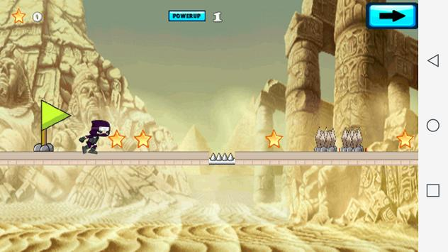 Ninja Stealth Shadow Run apk screenshot