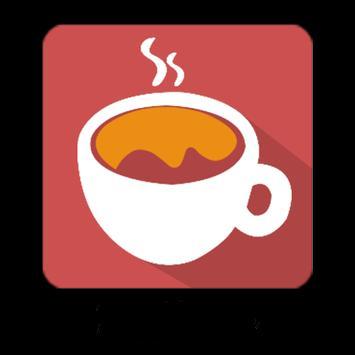 Kaffeecup poster