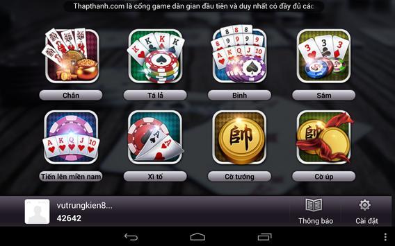 Game danh bai online hot 2016 apk screenshot