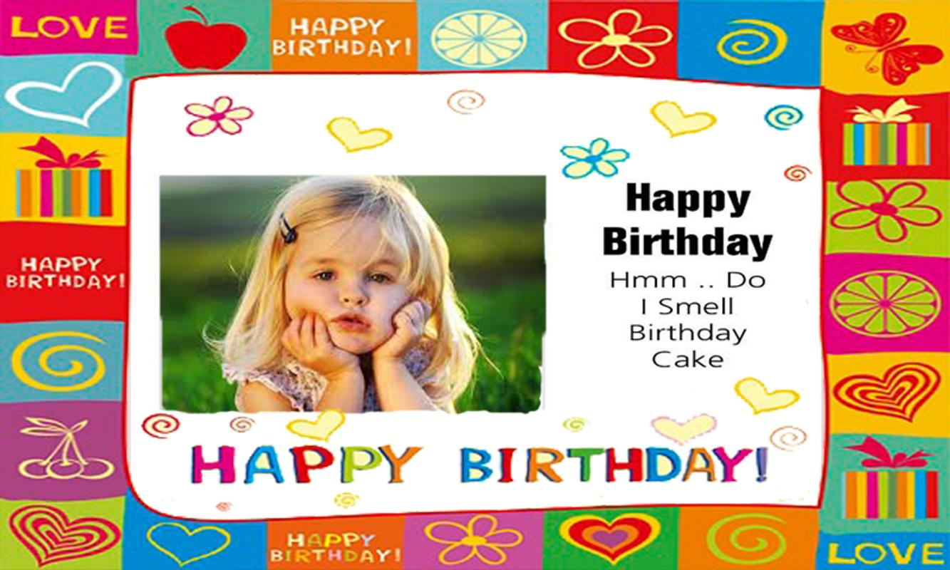 Birthday Greeting Card Frame For Android APK Download