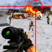 Sniper Desert Combat Killer Attack Shooting icon