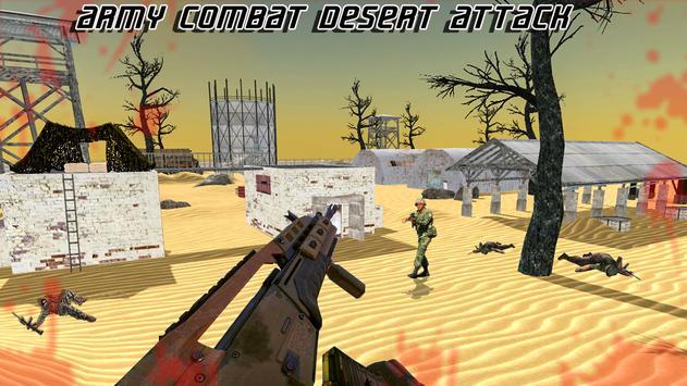 Sniper Desert Combat Killer Attack Shooting screenshot 9