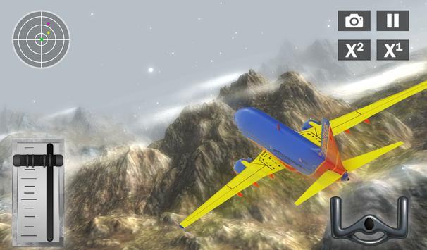 Free Flight Simulator: Airplane Fly 3D screenshot 1
