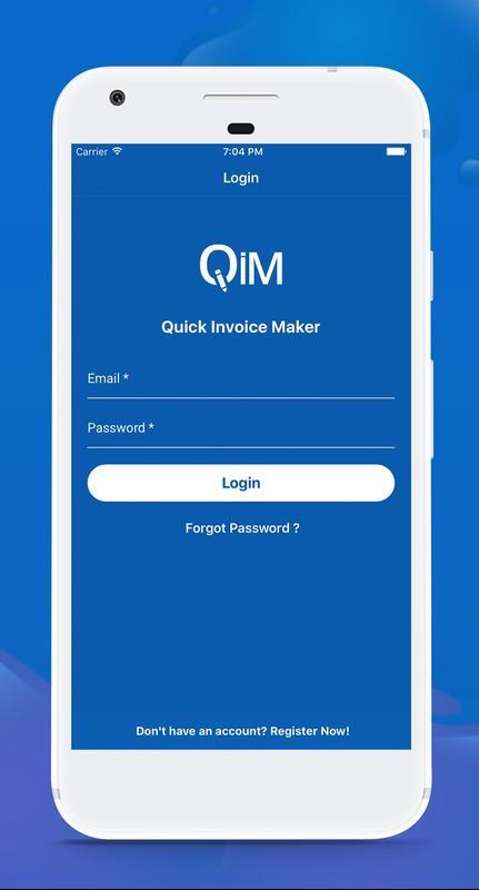 Quick Invoice Maker APK تحميل مجاني أعمال تطبيق لأندرويد APKPurecom - Quick invoice maker