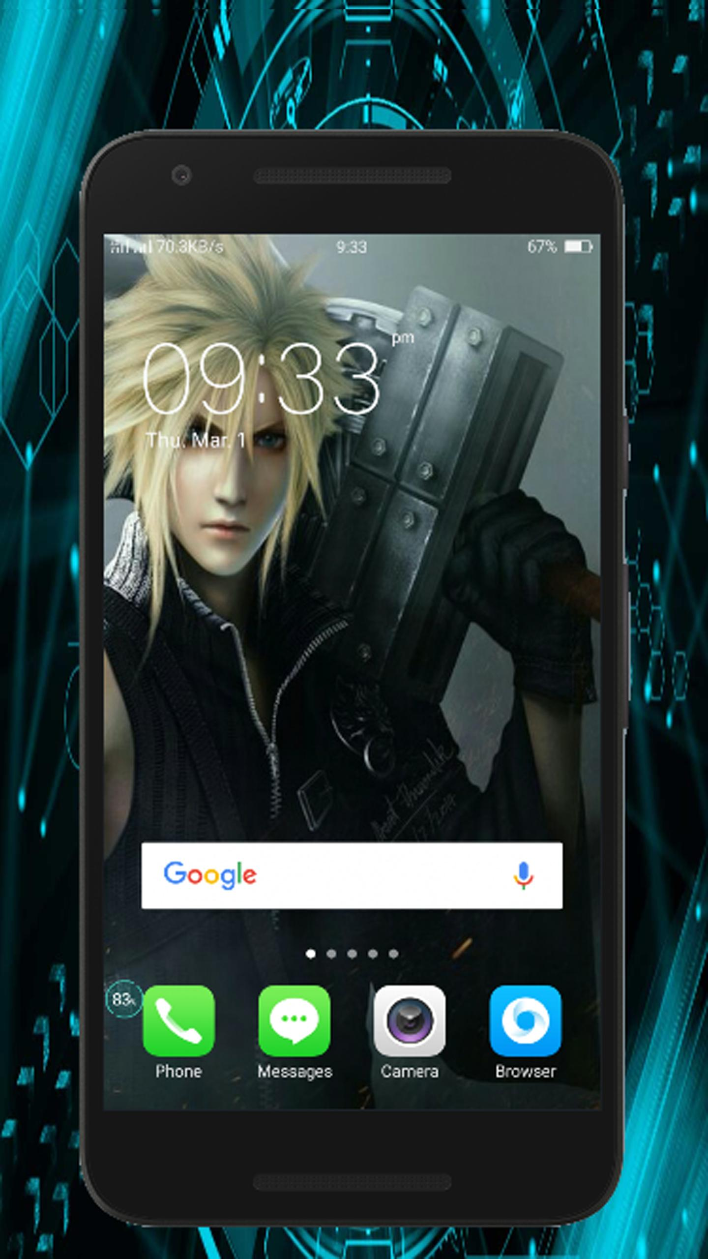 Cloud Strife Wallpaper Pocket For Android Apk Download