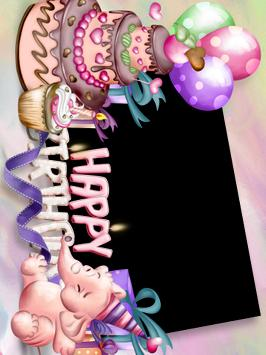 Happy Birthday Photo Frame and Greeting card screenshot 2