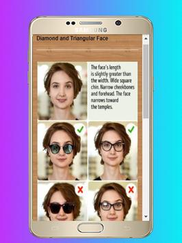 Sunglasses For Your Face Shape - Guide and Tips screenshot 2