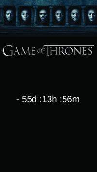 Countdown - Game of Thrones S6 poster