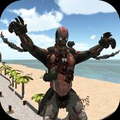 Download Game android antagonis Miami Rope Man APK gratis