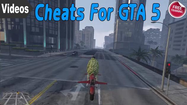 Mod Cheats For GTA 5 apk screenshot