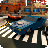 Superheros Drift Car Racing City icon