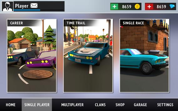 Superheros Drift Car Racing City screenshot 4