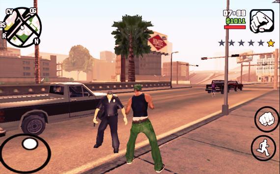 Cheat gta san andreas apk screenshot