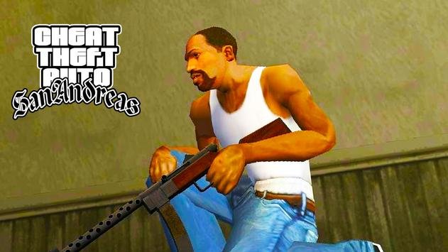 Cheat Code for GTA San Andreas الملصق