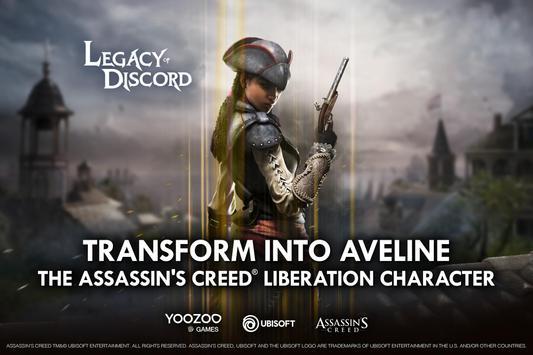 Legacy of Discord (Wojna) apk zrzut ekranu