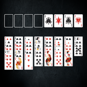 FreeCell Card Game Black icon