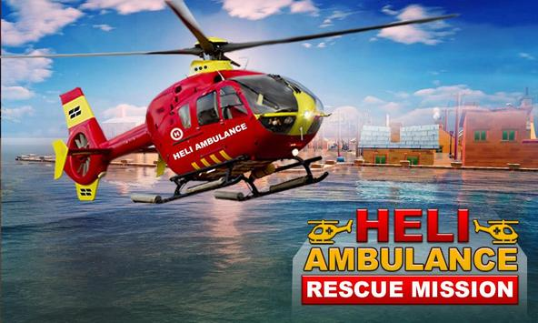Heli Ambulance Rescue Mission poster