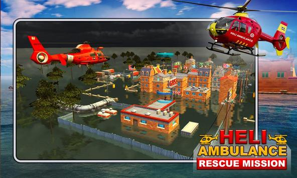 Heli Ambulance Rescue Mission apk screenshot