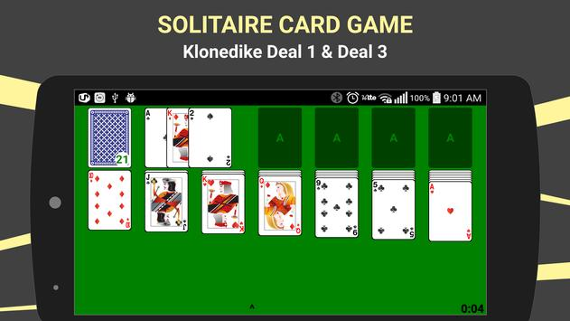 Klondike Solitaire Card Game poster