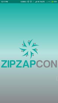 ZIPZAPCON poster