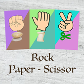 Rock Paper Scissors With Cards icon