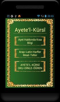 Ayetel Kürsi Ezberle ve Öğren poster