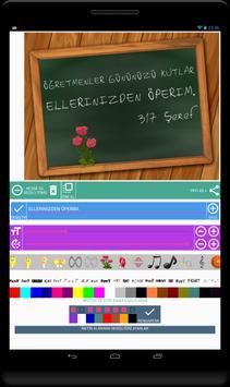 Resimli Mesajlar Oluşturma Atölyesi screenshot 1