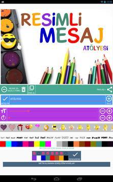 Resimli Mesajlar Oluşturma Atölyesi screenshot 8