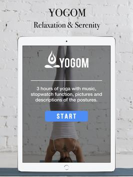 Yogom 2 : Free yoga coach apk screenshot