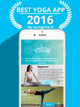 YOGOM - Yoga gratuit illustré syot layar 5