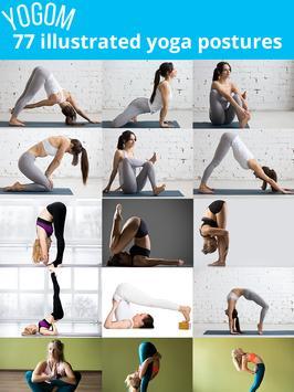 YOGOM - Yoga gratuit illustré syot layar 9