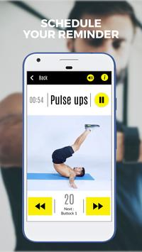 Abs 101 Fitness - Get in shape, six pack workout screenshot 4