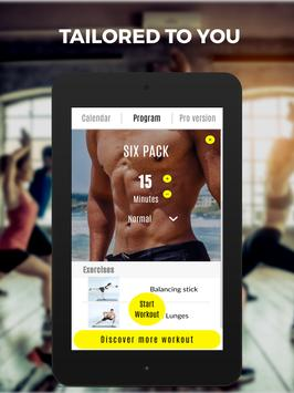 Abs 101 Fitness - Get in shape, six pack workout screenshot 13