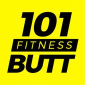 Butt & Leg 101 Fitness : lower body exercises free icon