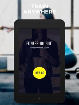 Butt & Leg 101 Fitness : lower body exercises free screenshot 10