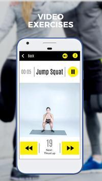 Butt & Leg 101 Fitness : lower body exercises free screenshot 2