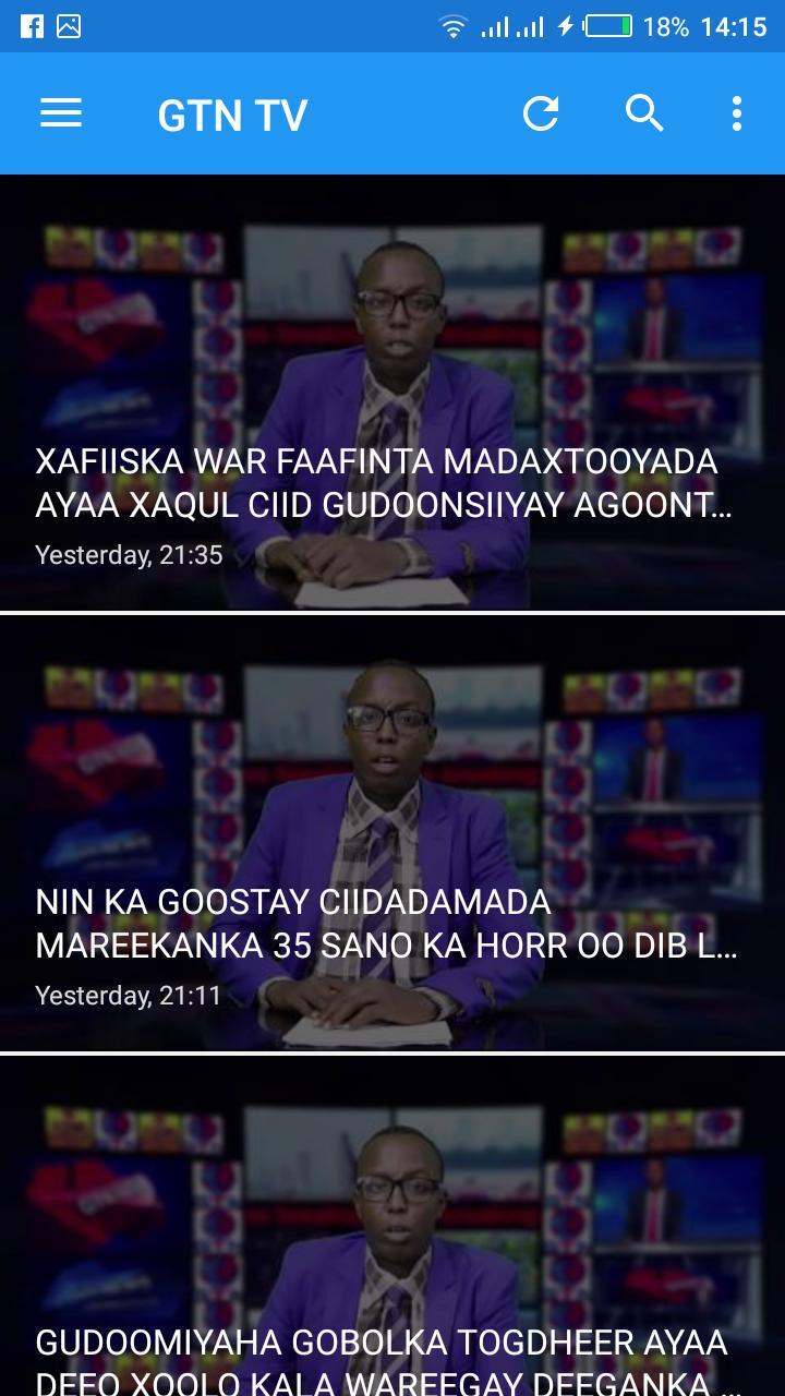 GTN Somali TV for Android - APK Download
