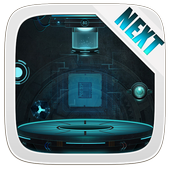 Next Technology Theme 3D LWP icon