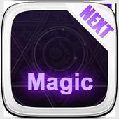 Next Launcher Theme  3D Magic icon
