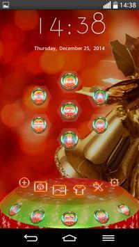 Next Launcher Theme MerryXMAS screenshot 7