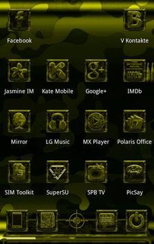 Next Launcher MilitaryB Theme apk screenshot