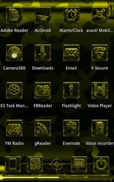 Next Launcher MilitaryB Theme screenshot 7