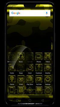 Next Launcher MilitaryB Theme poster