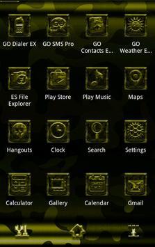 Next Launcher MilitaryB Theme screenshot 2