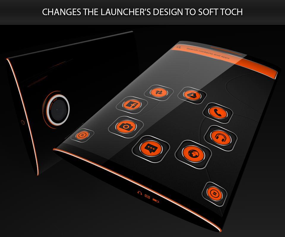 Soft Touch Orange Theme poster