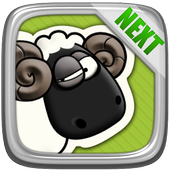 Next Launcher Theme P.Sheep icon