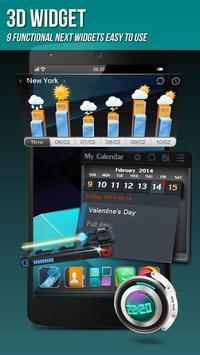 Next Launcher 3D Shell Lite screenshot 4
