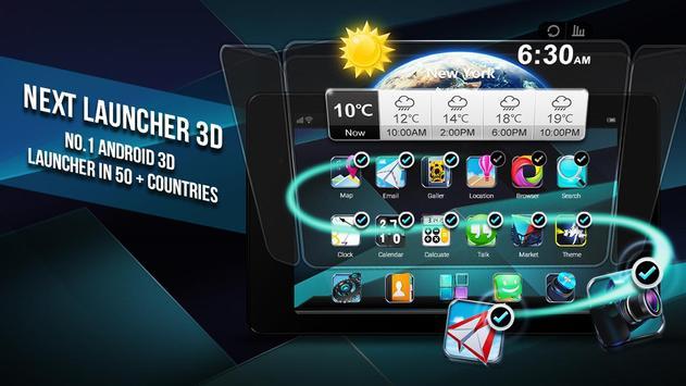 Next Launcher 3D Shell Lite screenshot 7