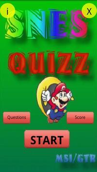 Super Nintendo Quizz poster