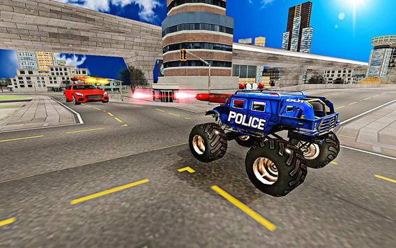 US police Robot Transform Horse game screenshot 11